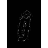 Glyph 243