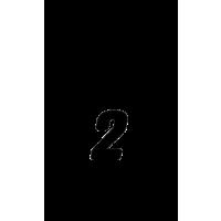 Glyph 776
