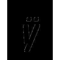 Glyph 253