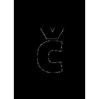 Glyph 218