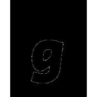 Glyph 176