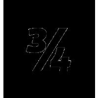 Glyph 768