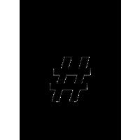 Glyph 609
