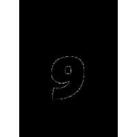 Glyph 607