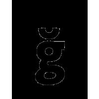 Glyph 233