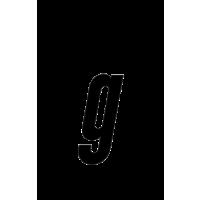 Glyph 173