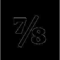 Glyph 718