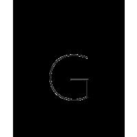 Glyph 284