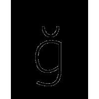 Glyph 242