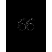 Glyph 739