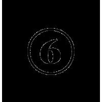 Glyph 889