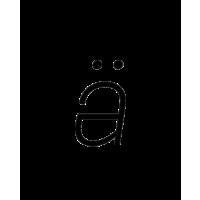 Glyph 185