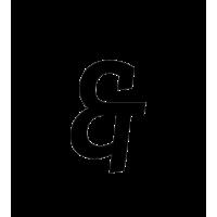 Glyph 437