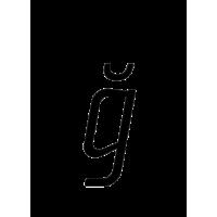 Glyph 189