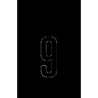 Glyph 608
