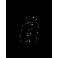 Glyph 165