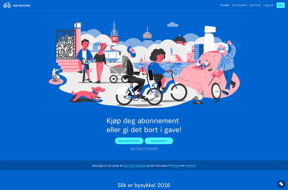 oslo bysykler kart Oslo Bysykkel | Suitcase Type Foundry oslo bysykler kart